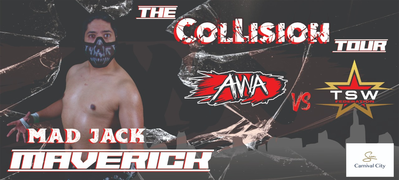Mad Jack Maverick Joins the Collision Tour