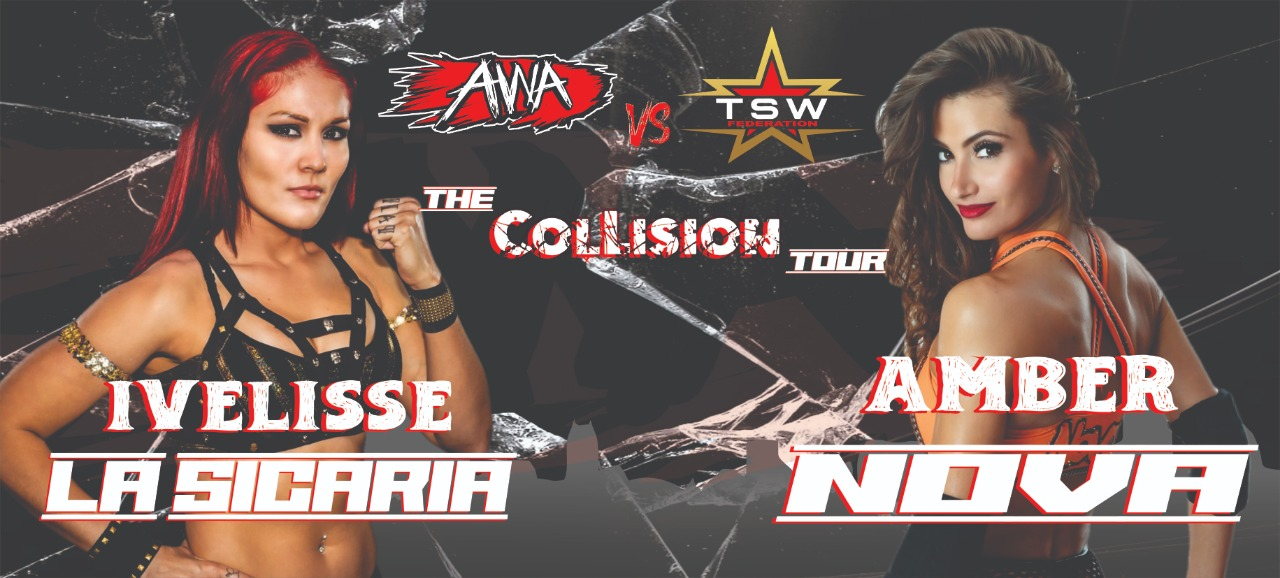 Ivelisse Sicaria and Amber Rose will be colliding in South Africa