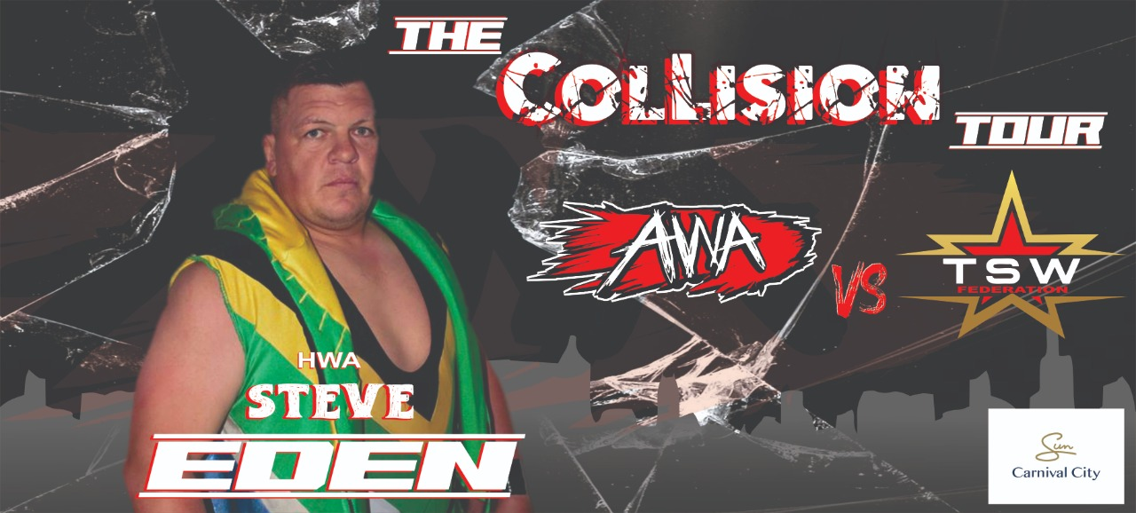 Steve Eden joins the Collision Tour