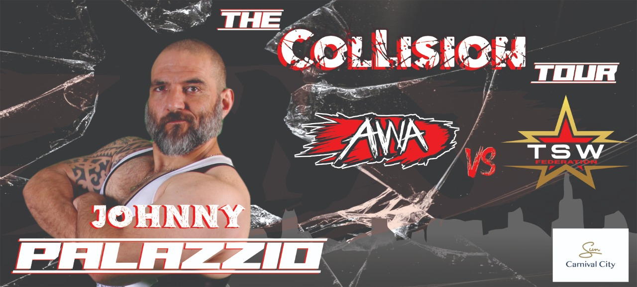Johnny Palazzio is joining the Collision Tour