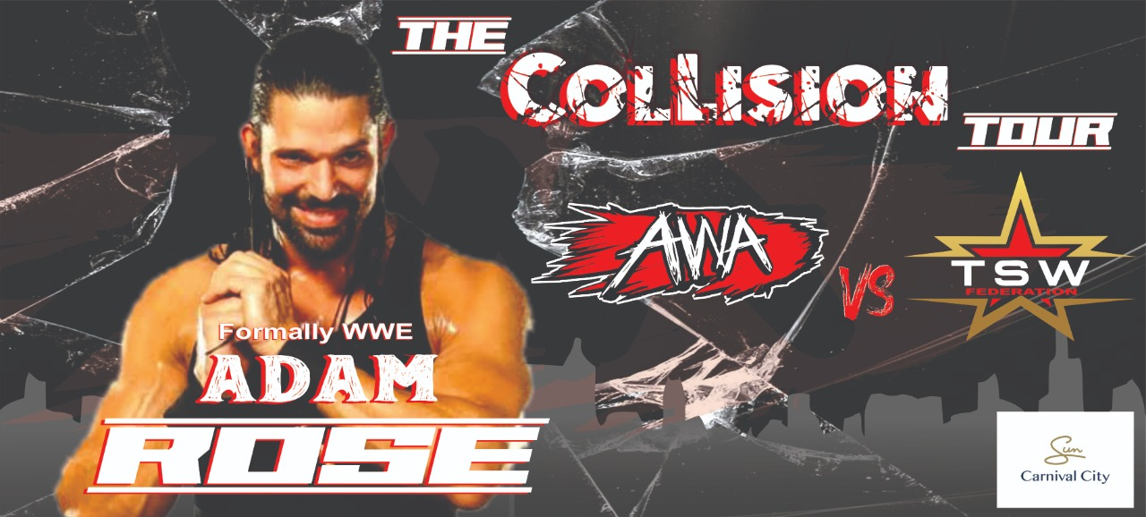 Adam Rose is joining the Collision Tour