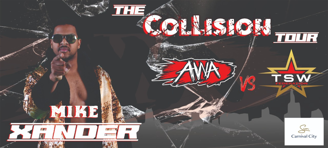 Mike Xander joins the Collision Tour