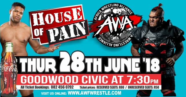 House of Pain - 28 June 2018