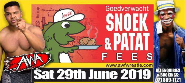 Snoek en Patat Fees
