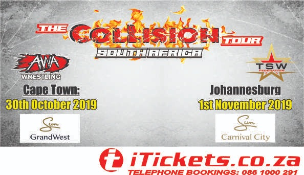 AWA and TSW Collision Tour: Big Top Arena Carnival City